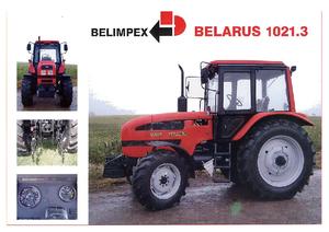 Tractores - tracción 4 ruedas Belarus 1021.3