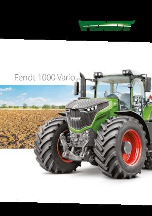 Tractores - tracción 4 ruedas Fendt 1050 Vario