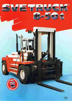 Carretillas elevadoras frontales diesel SVETRUCK 18120-36