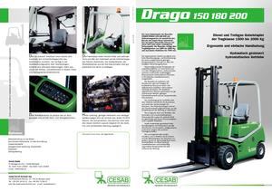 Carretillas elevadoras frontales a gas Cesab Drago 180
