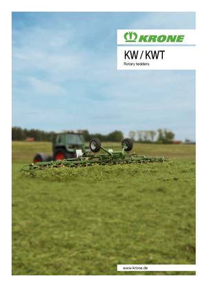 Rastrillos henificadores Krone KWT 8.82/8