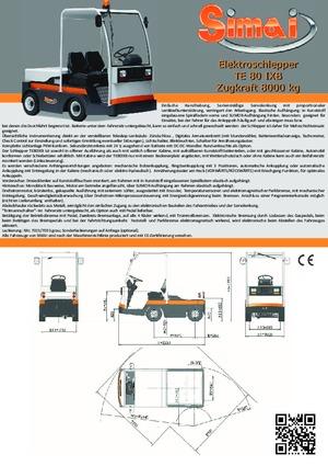 Tractores eléctricos Simai TE 80 IXB ac