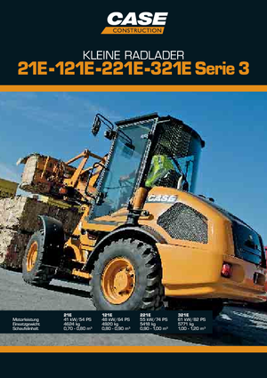 Cargadoras de ruedas Case 021 E S-3
